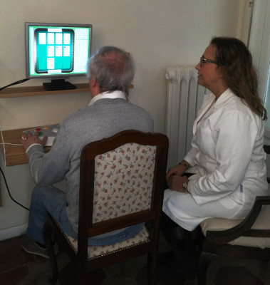 Cognitive training game for adults organized by Allenamente in Torino, Italy