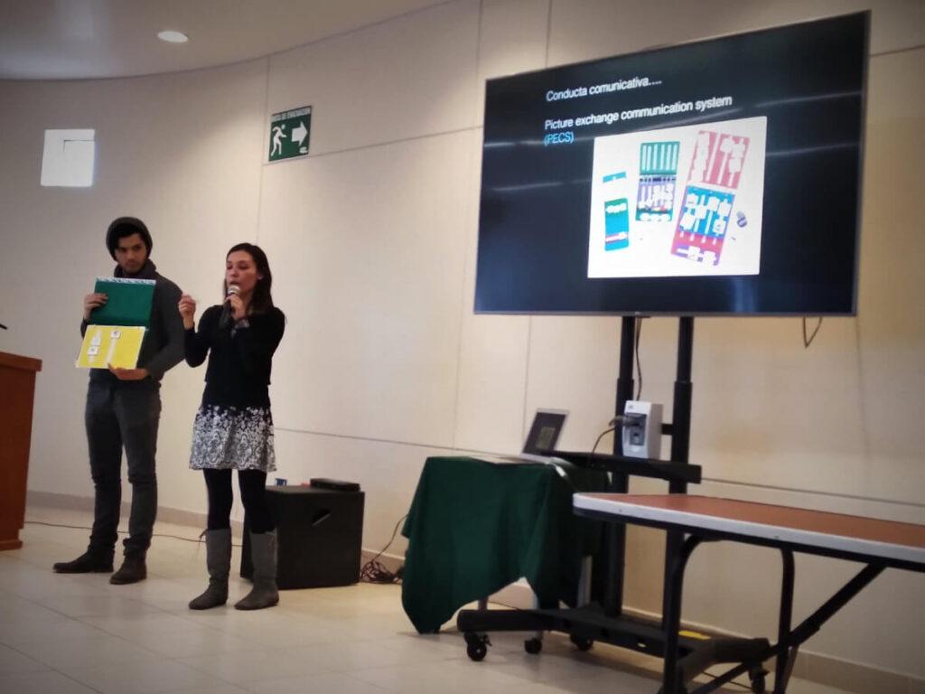 A presentation organized by the Autonomous University of  Baja California in Mexico.