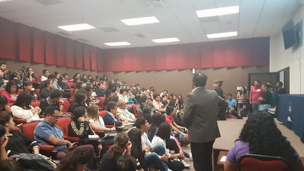 A presentation organized by Benemérita Universidad Autónoma de Puebla in Mexico