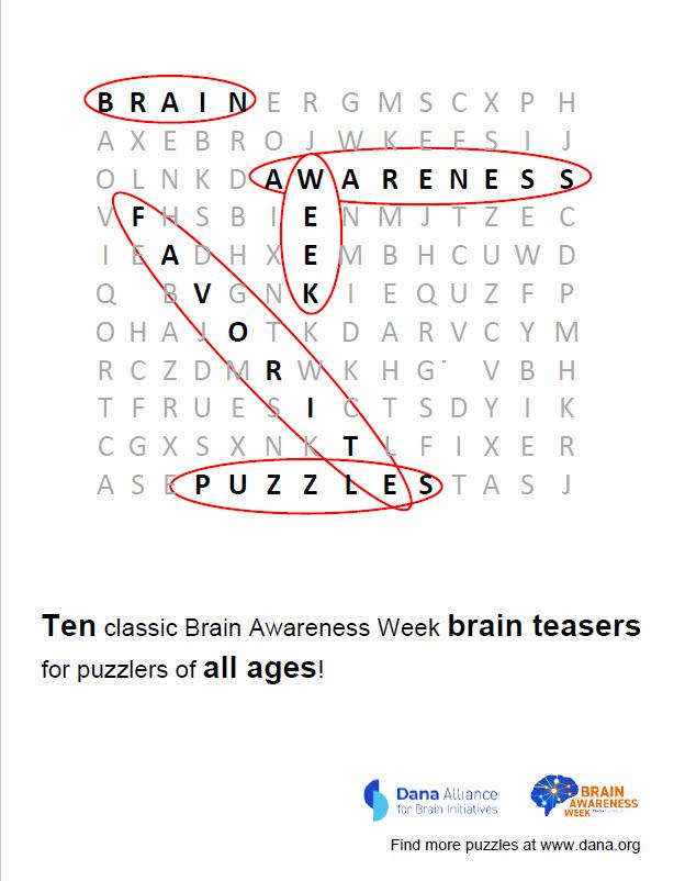 Handouts & Resources | Brain Awareness Week