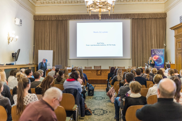 A lecture organized by the Centre for Administration and Operations of the Czech Academy of Sciences in Prague, Czech Republic