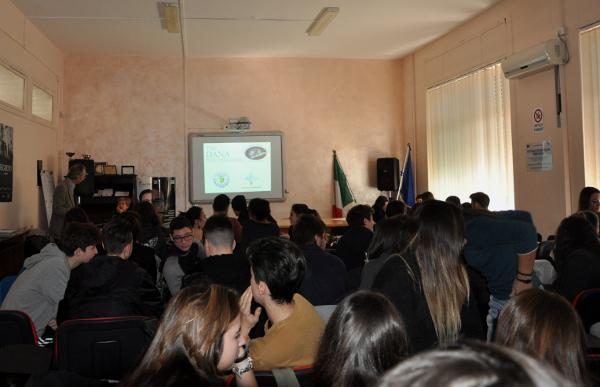 A presentation for students organized by Centro Studi Internazionali in collaboration with Corpo Italiano di San Lazzaro, Italy