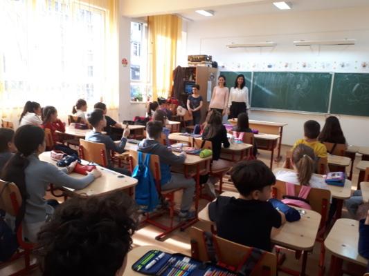 "A classroom presentation organized by ""Constantin Gorgos"" Titan Psychiatry Hospital in Bucharest, Romania"