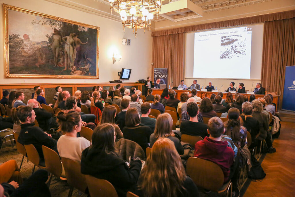 Panel discussion organized by the Centre for Administration and Operations of the Czech Academy of Sciences in the Czech Republic.