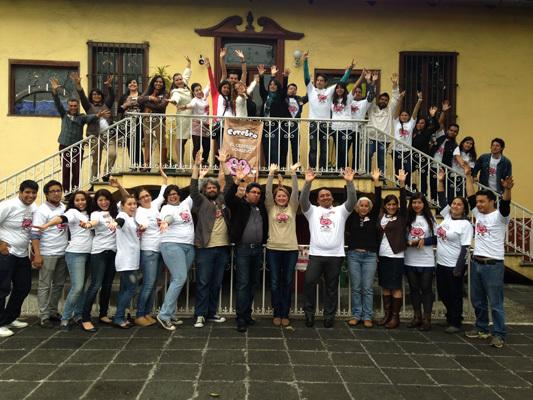 Brain Awareness Week team at the Universidad Veracruzana in Mexico