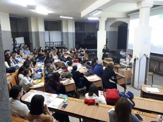 "A presentation organized by""Constantin Gorgos"" Titan Psychiatry Hospital in Bucharest, Romania"