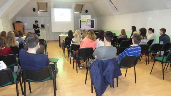 A talk organized by Czech Huntington Association in Czech Republic