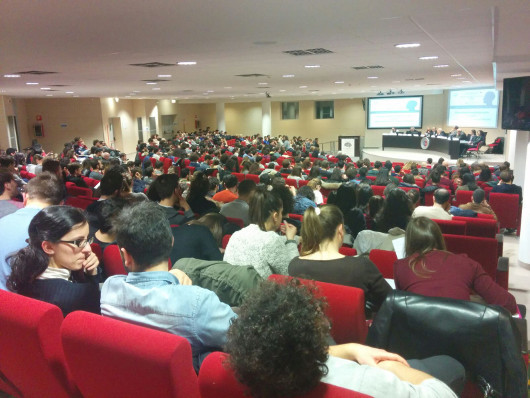 Audience at BAW Inauguration organized Dr. Corinna Bolloni Dr. Majla Trovato NeuroPsychoNet in Italy