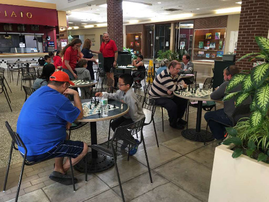 A family game day for brain health organized by Dr. G's BrainWorks in Illinois