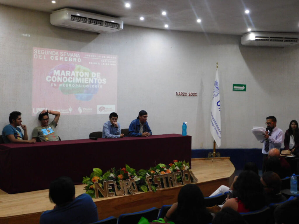 A brain marathon organized by Escuela Superior Actopan, Universidad Autónoma del Estado de Hidalgo in Mexico.