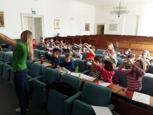 Brain workshop for students organized by Faculty of Medicine Osijek in Croatia
