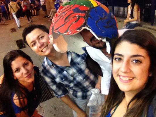 Brain Awareness Week team at the Federal University of Sao Paulo in Brazil