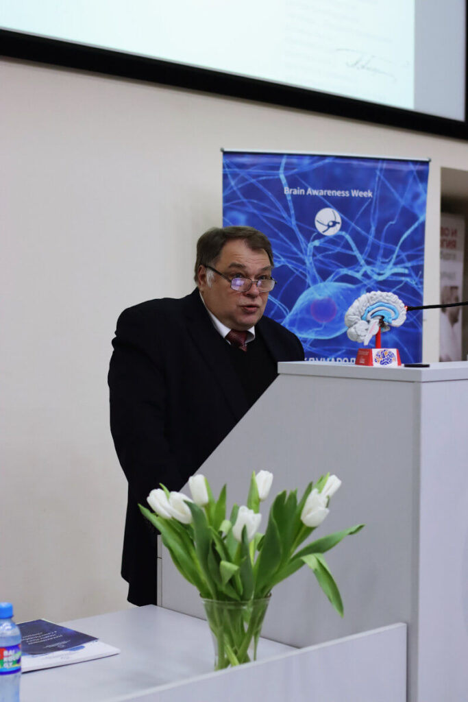 "Lecture ""Emotiostasis and Addiction"" by Prof. A. Sofronov, part of BAW 2020: ""Emotions,"" organized by First Pavlov State Medical University, St.-Petersburg in Russia."