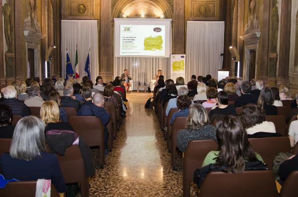 A conference organized by Fondazione Zoe - Zambon Open Education in Vicenza, Italy