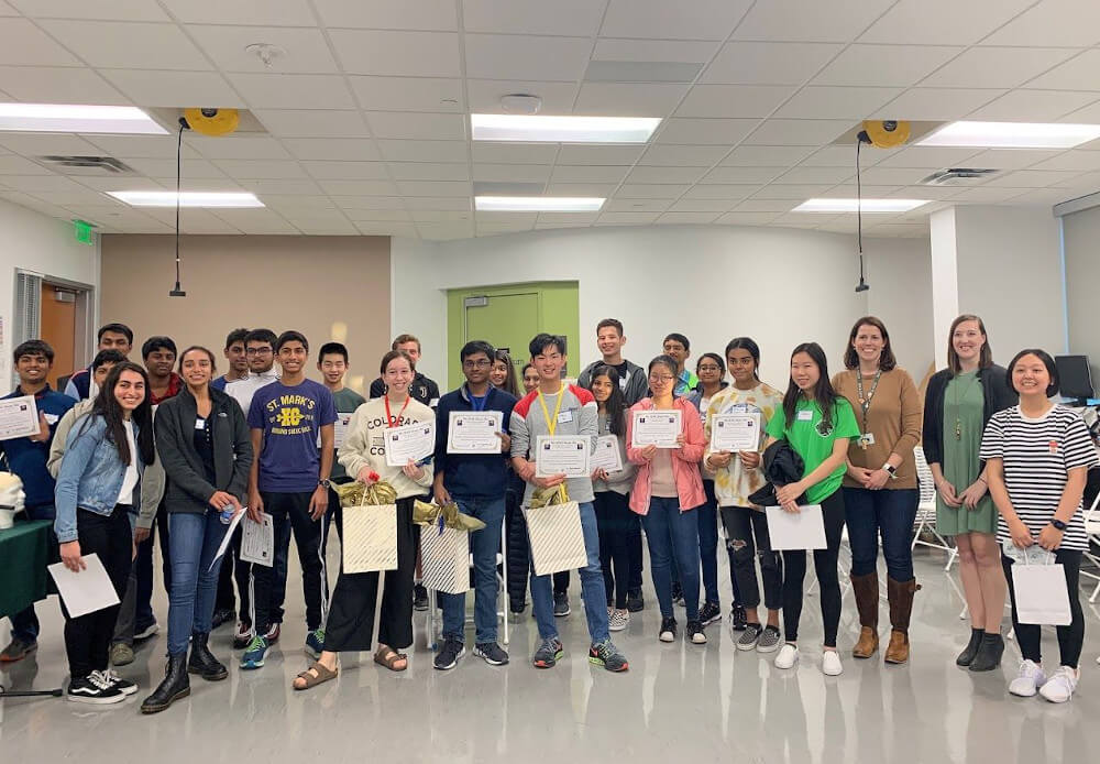 The sixth regional Brain Bee for high school students organized by The Hockaday School in Dallas, TX.