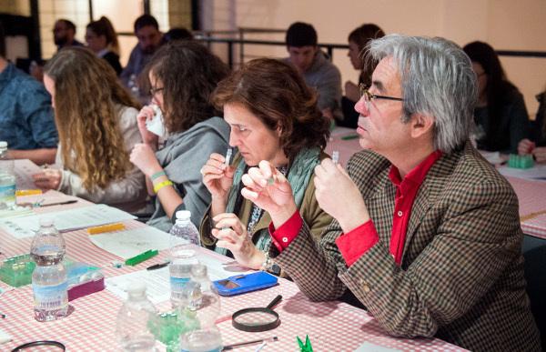 Olfactory workshop organized by the Hospital Nacional de Paraplejicos (HNP) in Spain