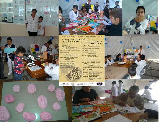 BAW festivities organized by Hospital Psiquiatríco Samuel Ramírez Moreno in Mexico