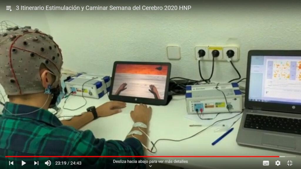 A virtual tour on how electrical stimulation can help us walk organized by Hospital Nacional de Parapléjicos in Spain.