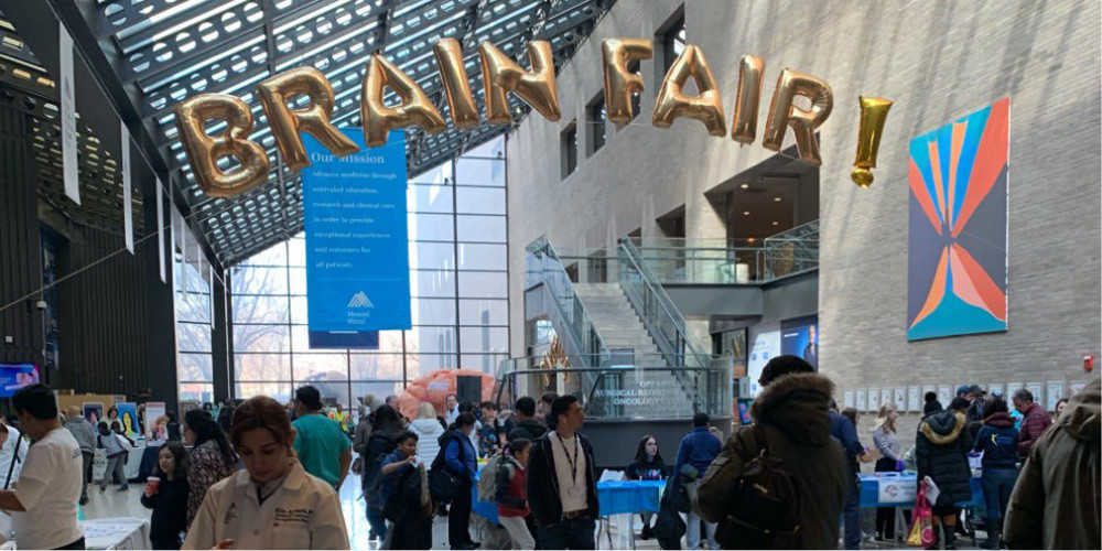 A Brain Fair organized by Icahn School of Medicine at Mount Sinai in New York.