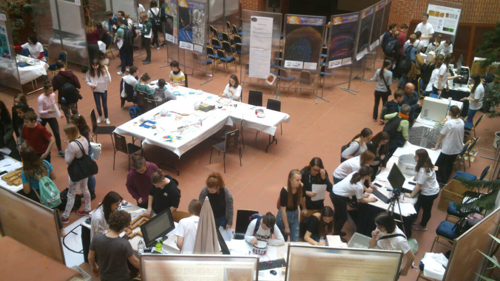 Brain fair organized by the Institute of Experimental Medicine of the Hungarian Academy of Science in Budapest, Hungary.
