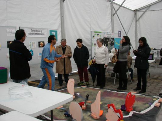 Brain Awareness Week activities at UNAM - Instituto de Neurobiología in Mexico