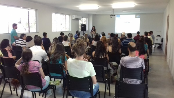 A lecture organized by Instituto de Neurociencias e Comportamento in Brazil