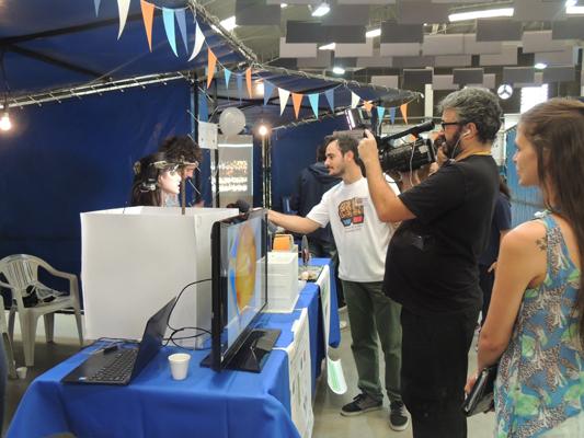 TV interview hosted by Laboratorio de Cronobiología, Departamento de Ciencia y Tecnología, Universidad Nacional de Quilmes in Argentina