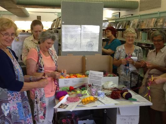 Making neurons at Library Sunshine Coast Queensland, Bolkarina, Australia