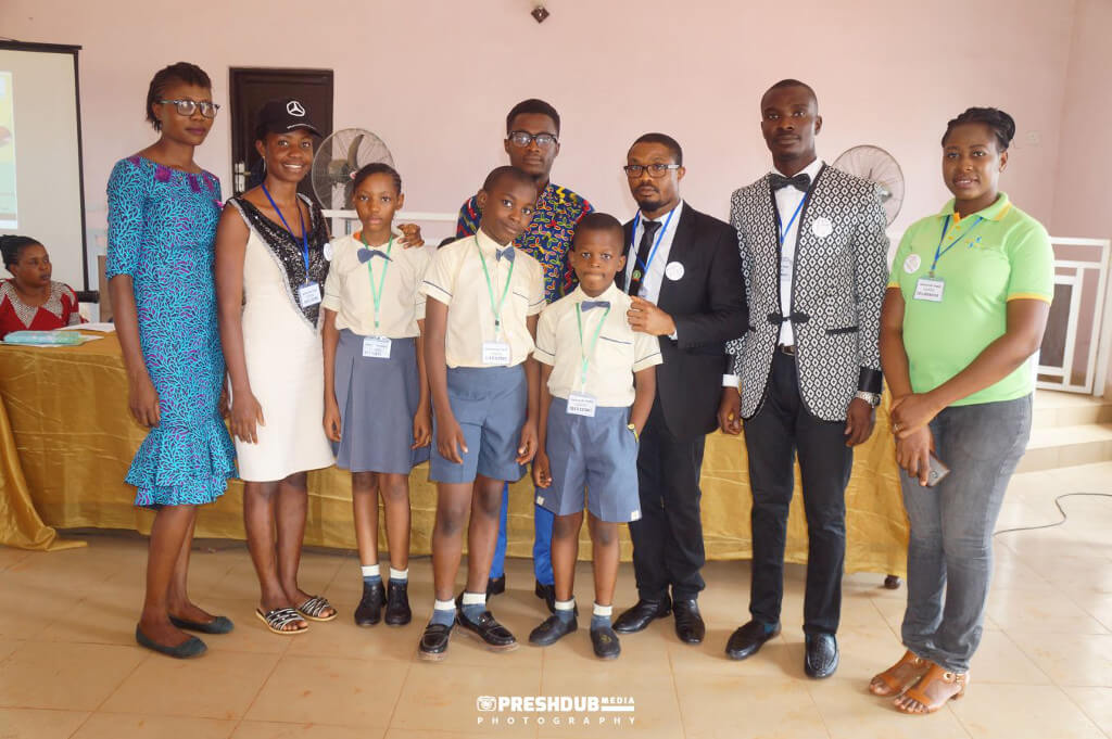 Students participated in a poetry and essay contest in Nnewi, Anambra State, Nigeria, organized by LifePorte in Switzerland.