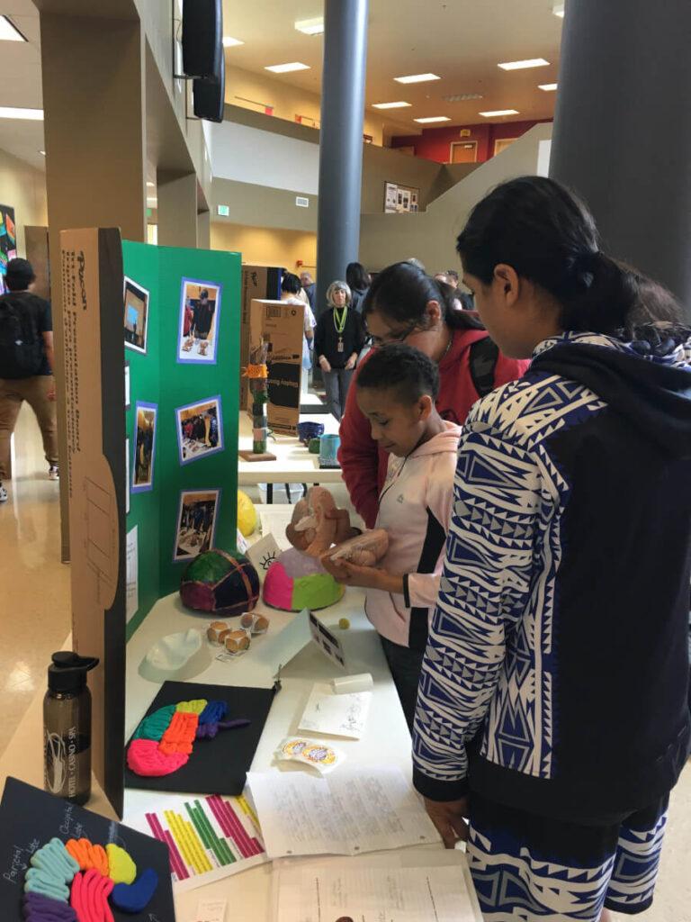 Event organized by Lummi Nation School in Washington.