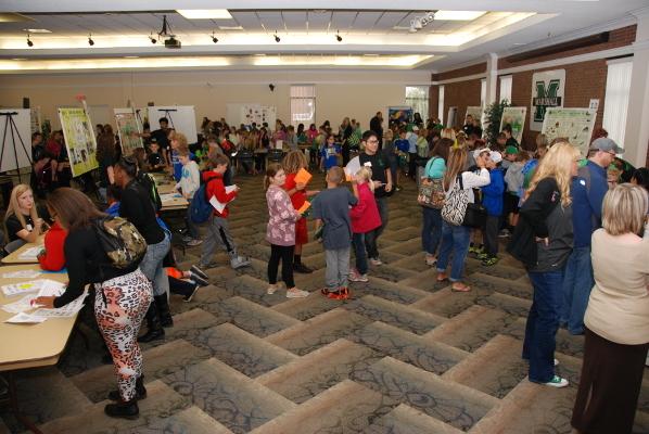 Brain Expo at Marshall University, West Virginia, US 2015
