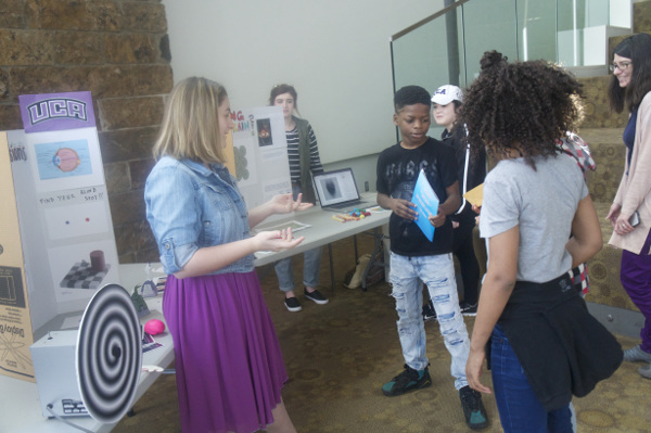 A brain game during an annual event organized by NCTR/FDA Jefferson in Arkansas