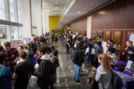 Brain Day Fair organized by NYU School of Medicine in New York