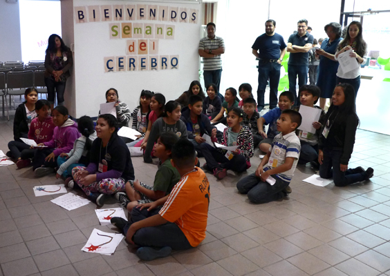 Welcome to Spanish Brain Awareness Week hosted by the National Autonomous University of Mexico in Los Angeles, California