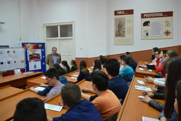 BAW Student Symposium organized by National College Nicolae Balcescu, Romania
