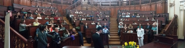 A lecture on neuroscience and society organized by National Neuroscience Society of Romania