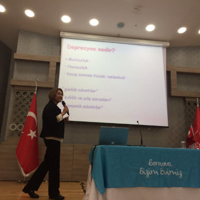 Presentation organized by Neuroscience Society of Turkey