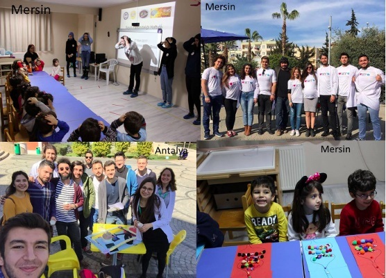 BAW activities organized in various cities in Turkey organized by Neuroscience Society of Turkey