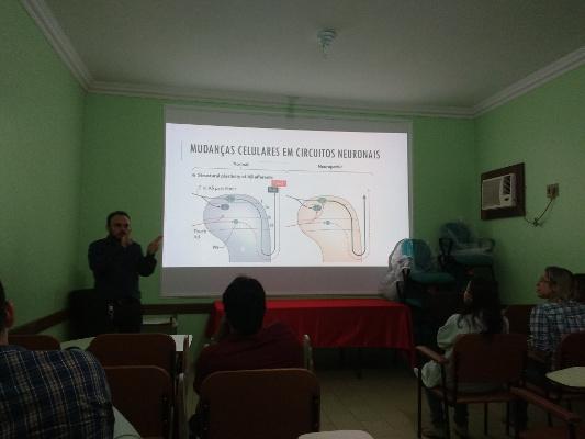 A presentation organized by Pará State University in Belém, Brazil