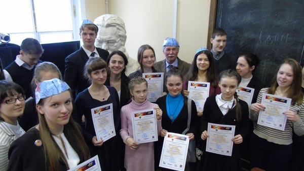 BAW–2015 winners and participants, St. Petersburg State University, Russia