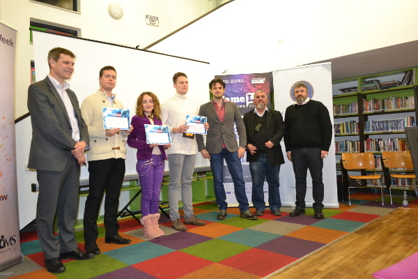 FameLab Competition at the British Council organized by the Scientific Organisation of Medical Students in Bucharest, Romania_