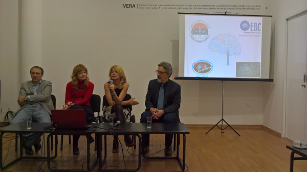 Panel discussion held by the Serbian Brain Council on improving public outreach on the brain organized by Students' Neuroscience Society of Serbian Neuroscience Society