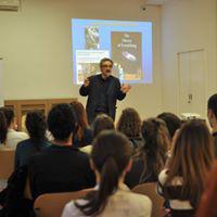 A lecture organized by the Serbian Brain Council in Belgrade, Yugoslavia