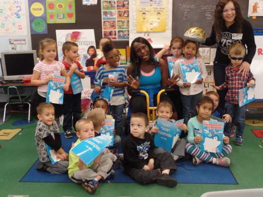 Preschool students learn about the brain courtesy of the Sia Yorker Brain Awareness Foundation