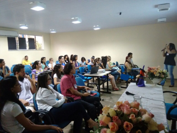 A lecture organized by State University of Pará in Brazil