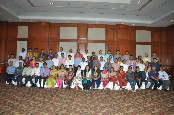 Participants at an event organized by Surya and Tomar Hospital in Sehore, India