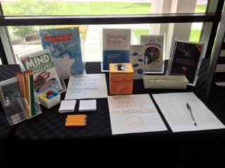 Handouts for students at a local school organized by Synapse in Iowa