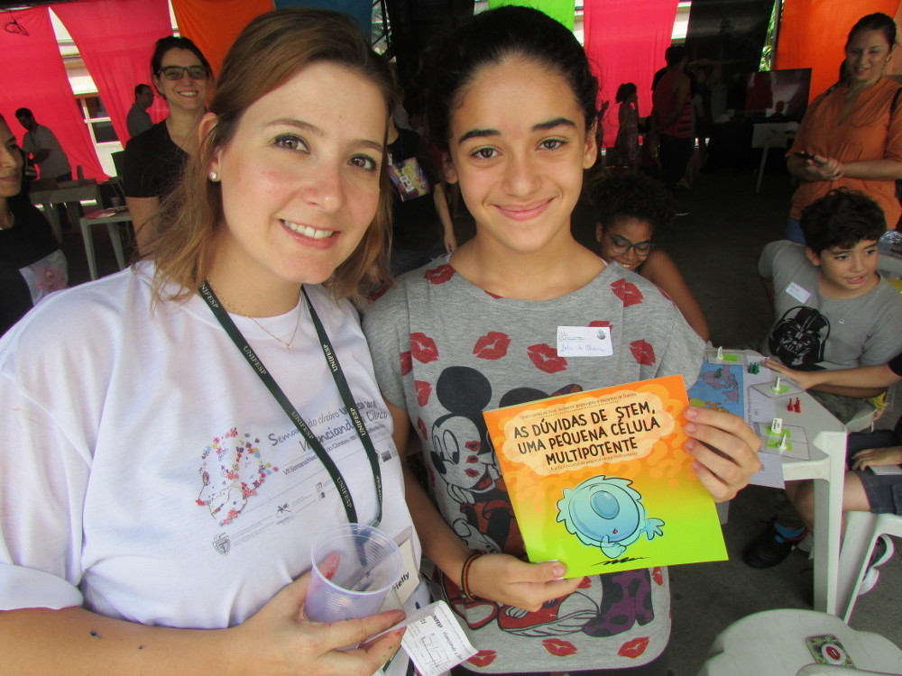 Gabrielly Denadai Chiarantin, a Group Leader at Semana Do Cérebro organized by (UNIFESP) in Brazil.