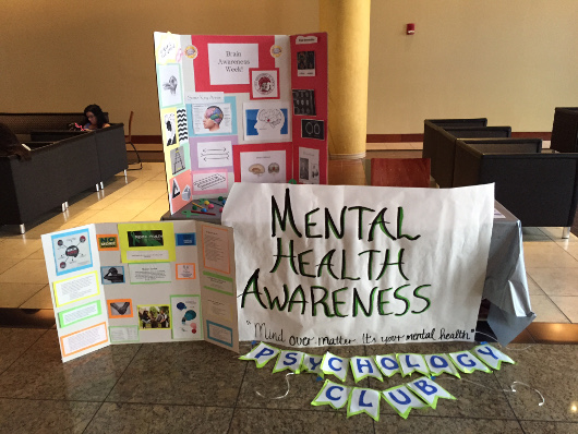 Mental Health Awareness event at the Univeristy of Tampa