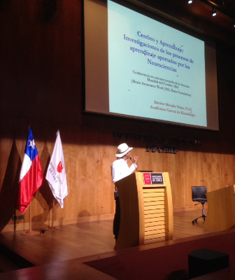 Lecture by Daniver Morales organized by Universidad Autónoma in Chile